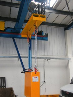 Vertical Extraction Lifting Beam